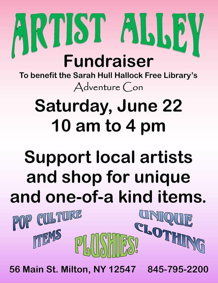 Artist Alley Fundraiser