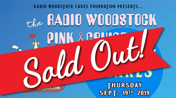 Radio Woodstock PINK Cruise featuring Scruffy Pearls!