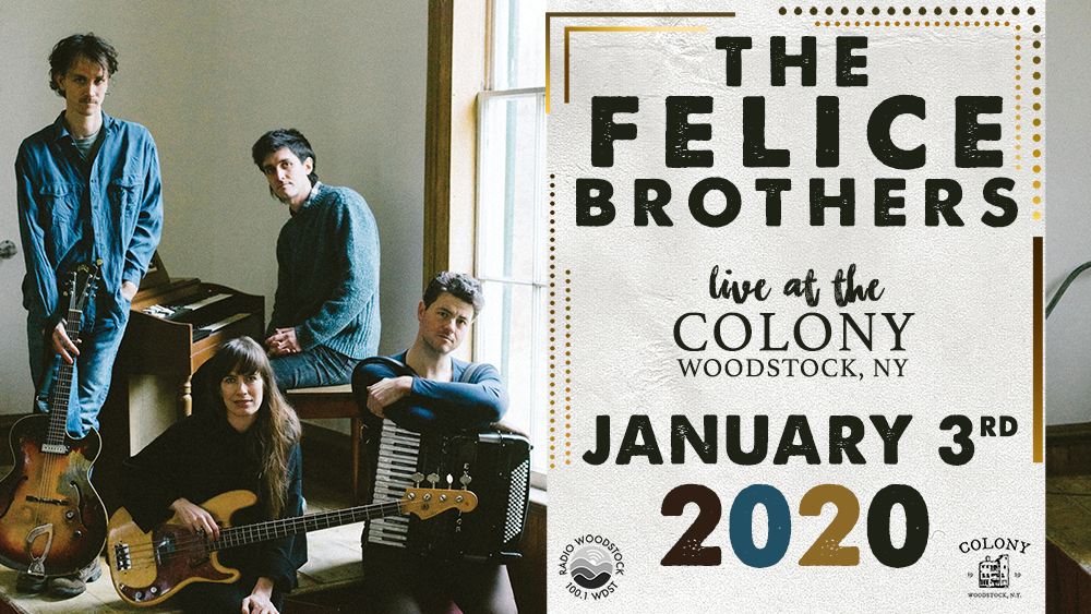 Live at 5: The Felice Brothers – 1/3/2020