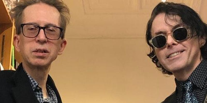 Richard Barone and Glenn Mercer