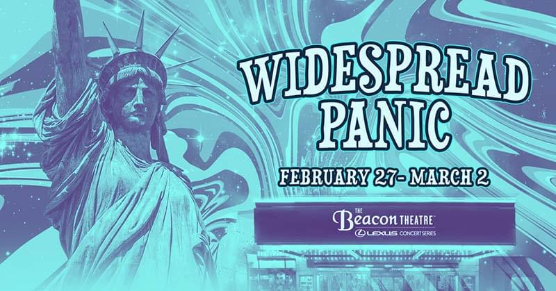 Widespread Panic | Beacon Theater | New York, NY