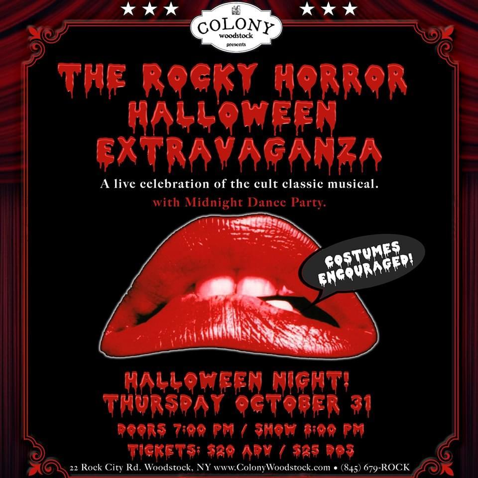 LOCALLY GROWN: Rocky Horror Halloween Extravaganza!