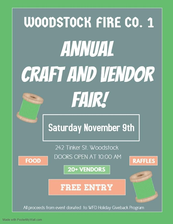3rd Annual Craft and Vendor Fair