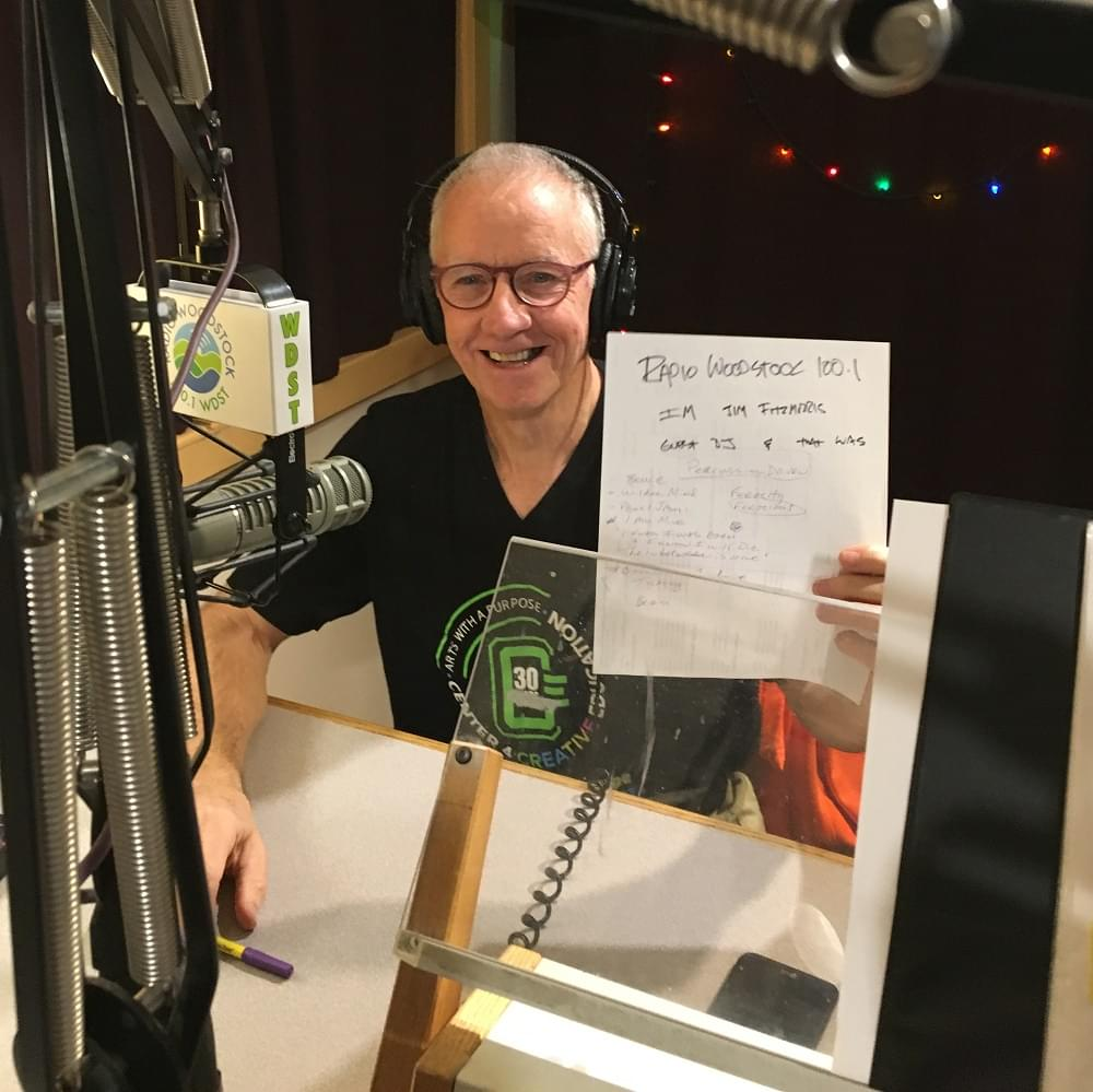 DJ for a Day – Jim Fitzmorris, 11/22/19