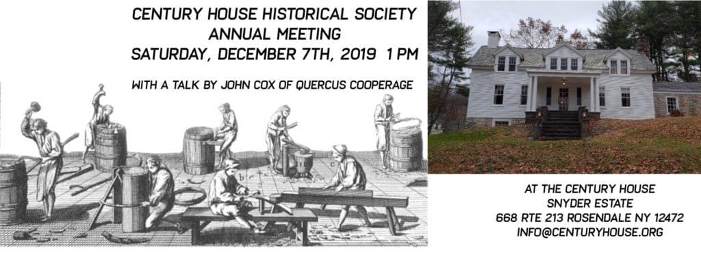 Century House Annual Meeting & Talk