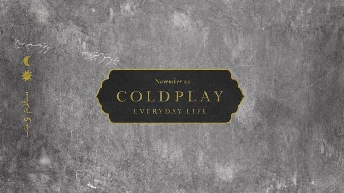 ALBUM OF THE WEEK: Coldplay – Everyday Life