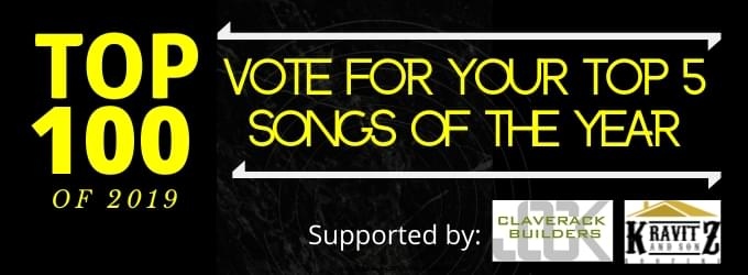 Vote for your Top 5 Songs of the Year!