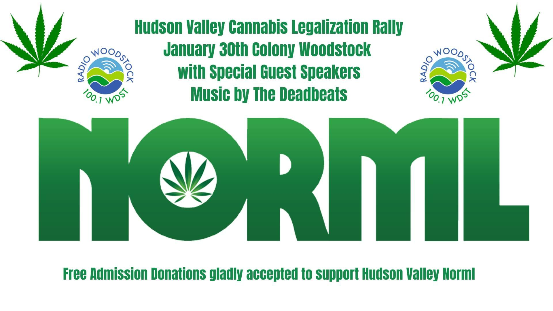 Hudson Valley Cannabis Legalization NORML Rally!