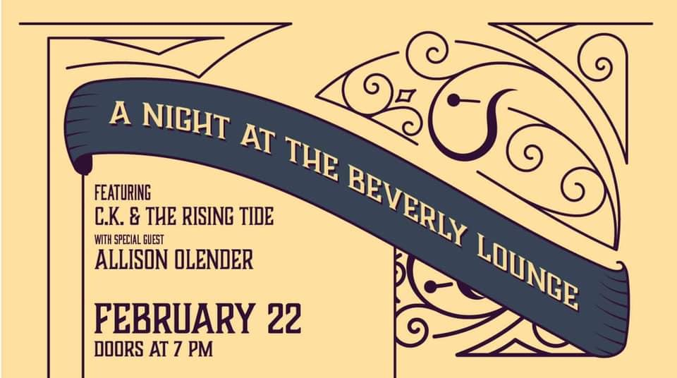 CK & The Rising Tide w/ Special Guest Allison Olender