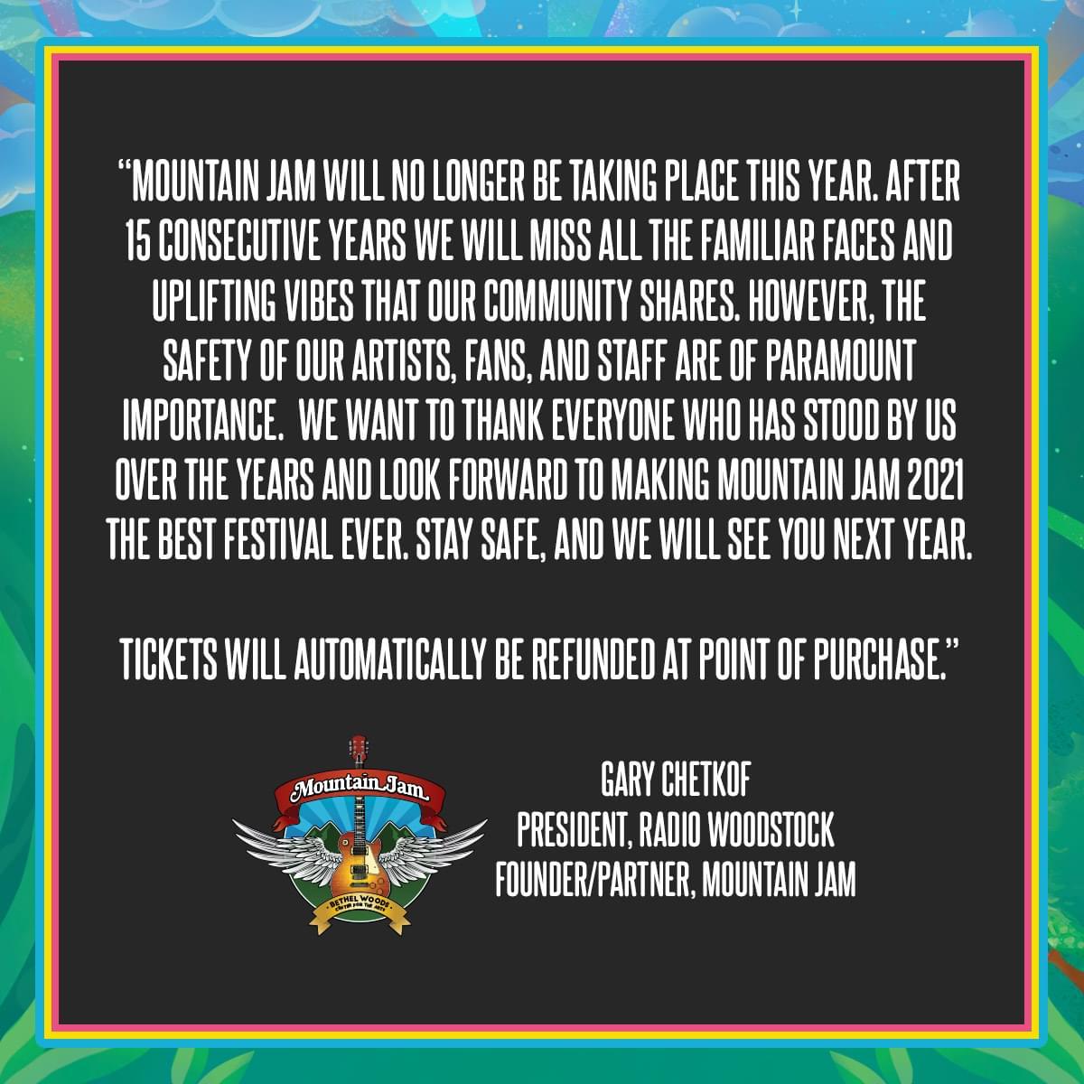Mountain Jam Festival 2020