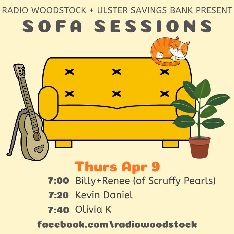 Sofa Sessions   Thur Apr 9