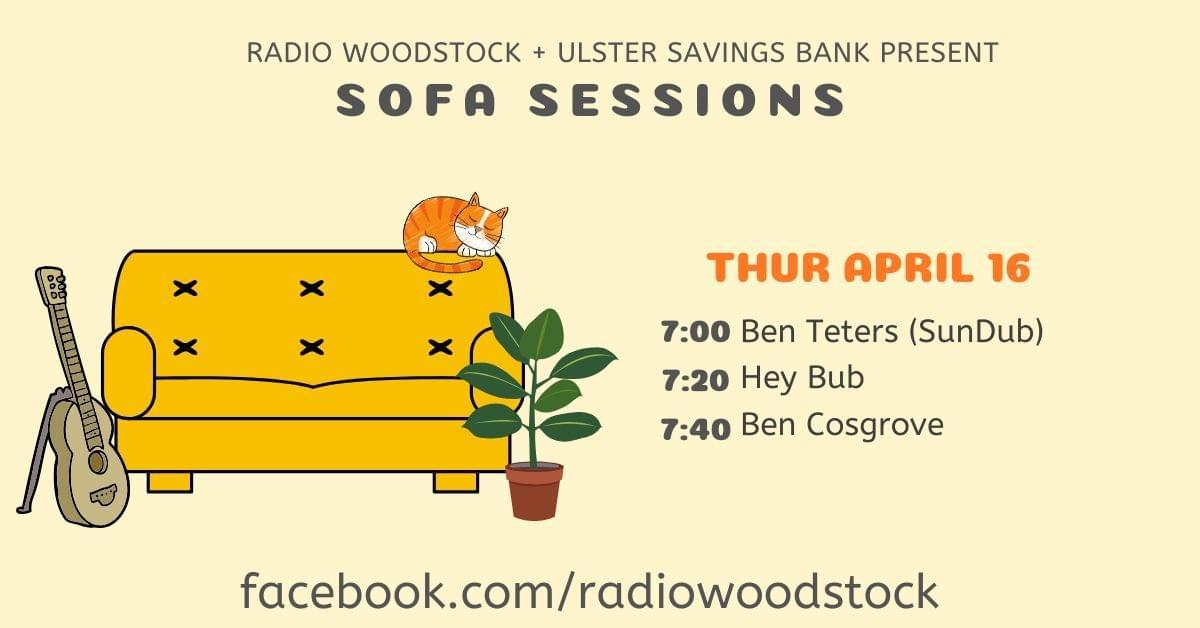 Sofa Sessions   Thur Apr 16
