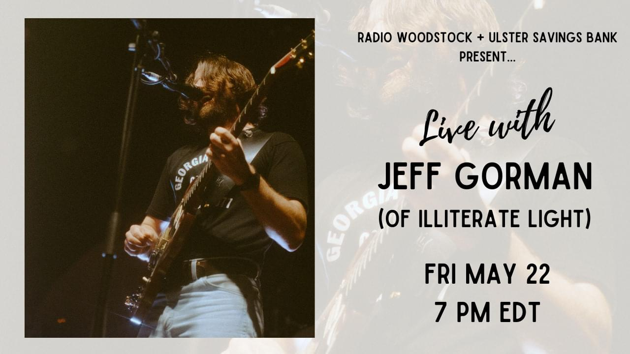 WDST + USB Present: Live with Jeff Gorman (of Illiterate Light)
