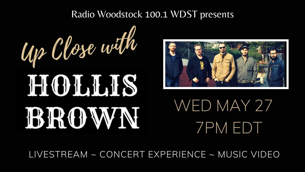 WDST presents Up Close with Hollis Brown