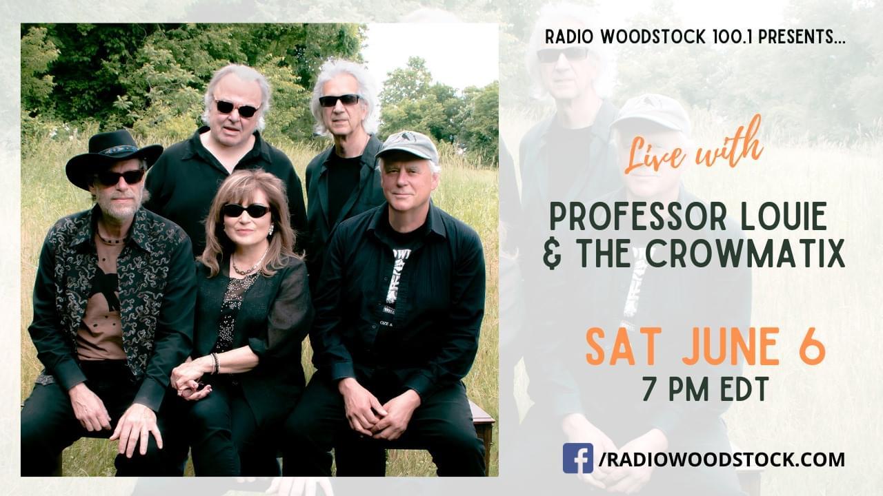 Live with Professor Louis & The Crowmatix