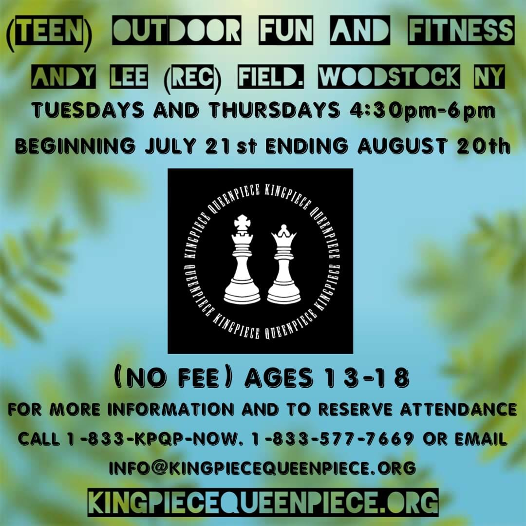 (Teen) Outdoor Fun and Fitness