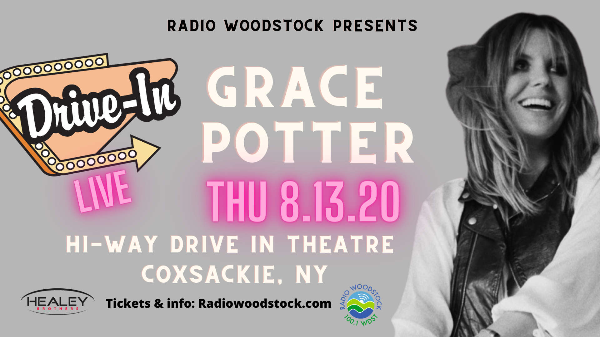 An Evening with Grace Potter at the Hi-Way Drive In