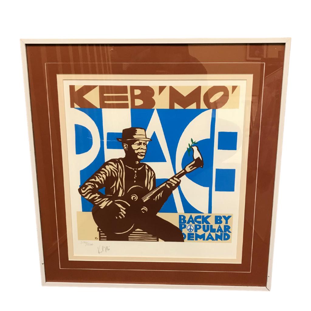 Keb Mo Signed Peace