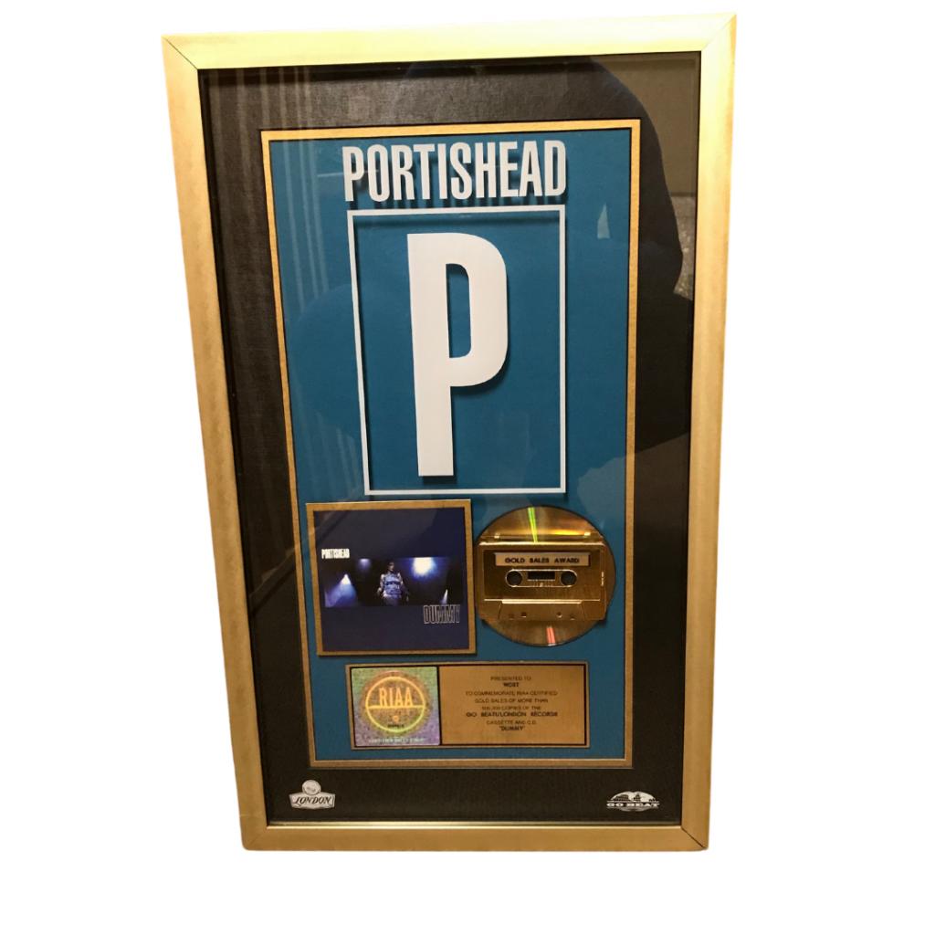Portishead Gold Record RIAA