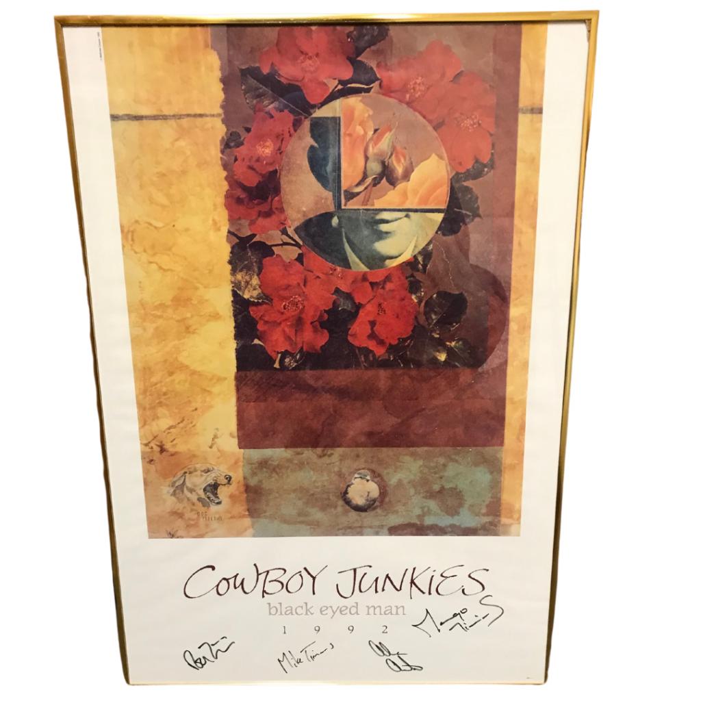 Cowboy junkies Black Eyed Man (Signed)