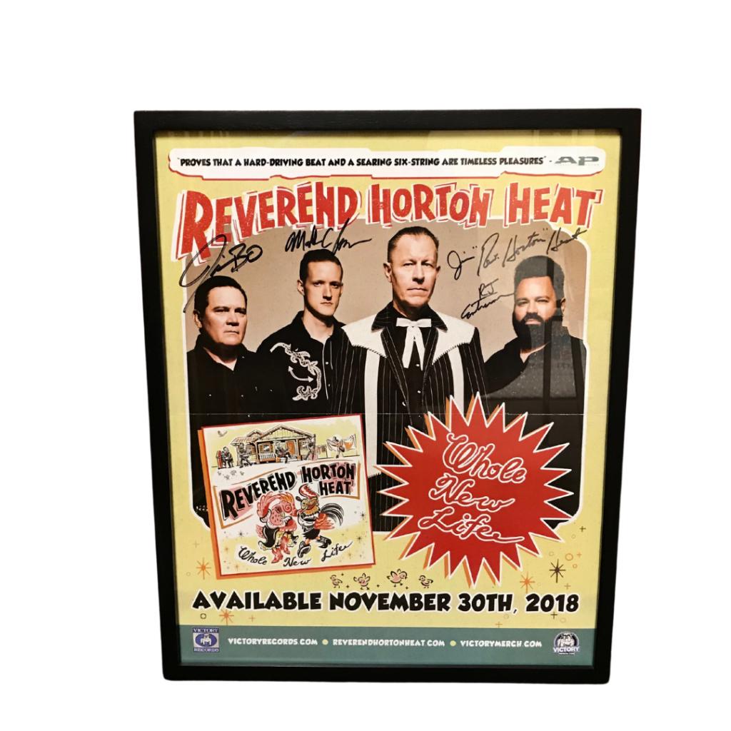 Reverend Horton Heat Whole New Life (Signed)