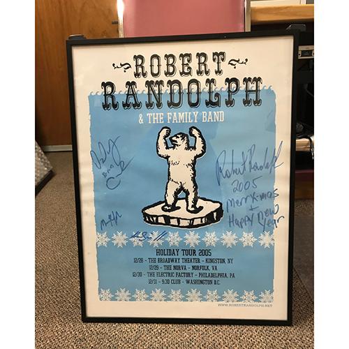 Robert Randolph UPAC 2005 (Signed)