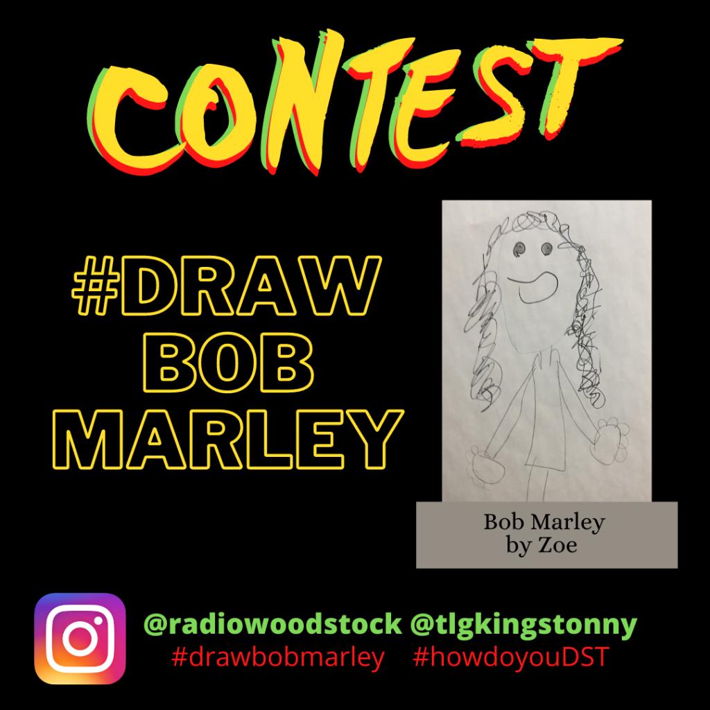 #DRAW BOB MARLEY CONTEST