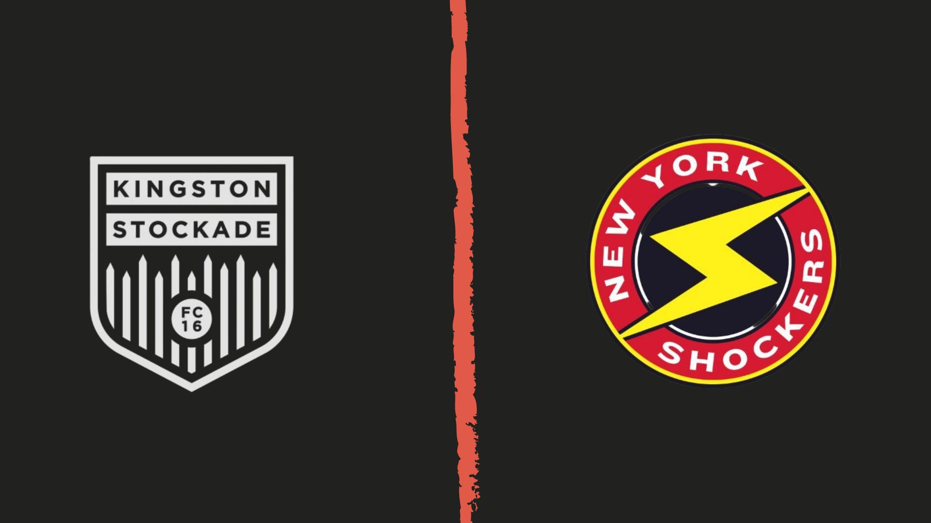 Kingston Stockade FC vs NY Shockers