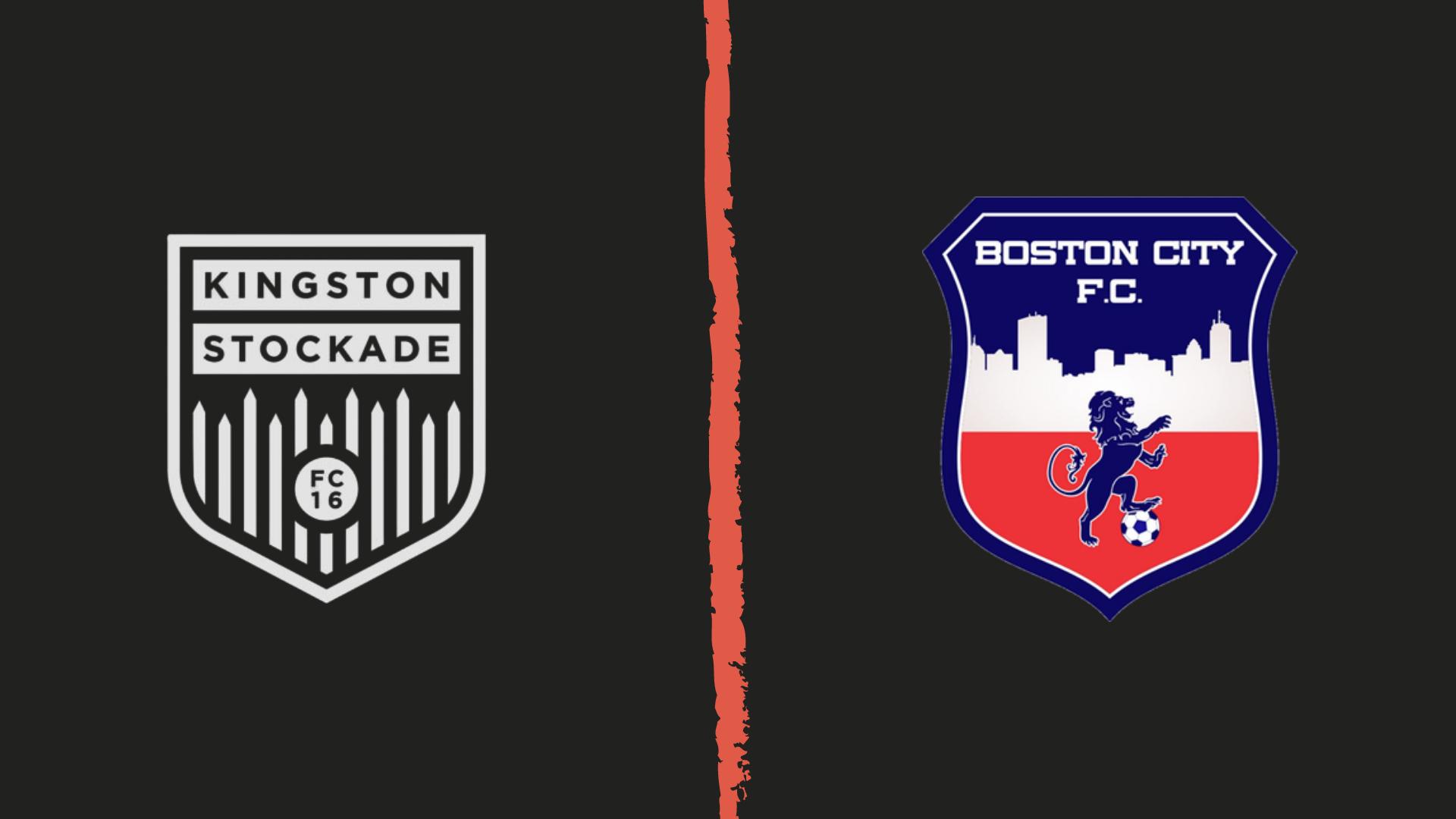 Kingston Stockade FC vs Boston City FC