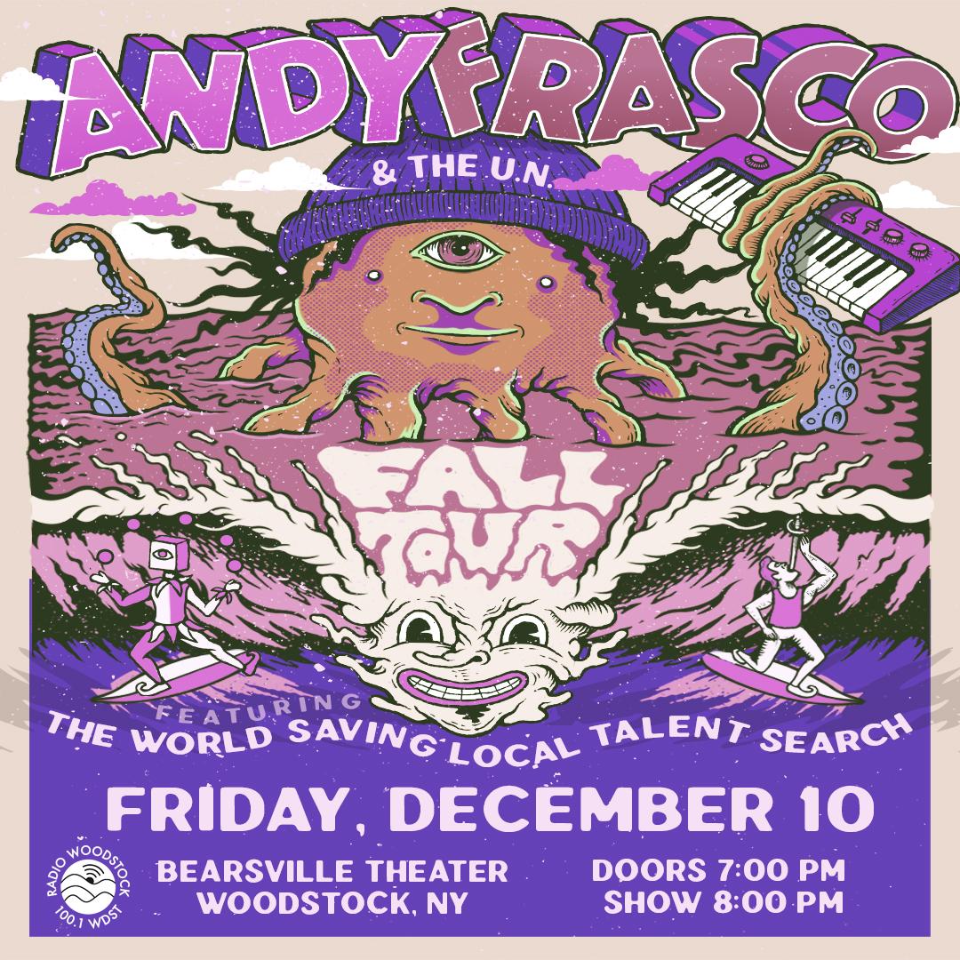 Andy Frasco & The UN – Bearsville Theater – December 10, 2021