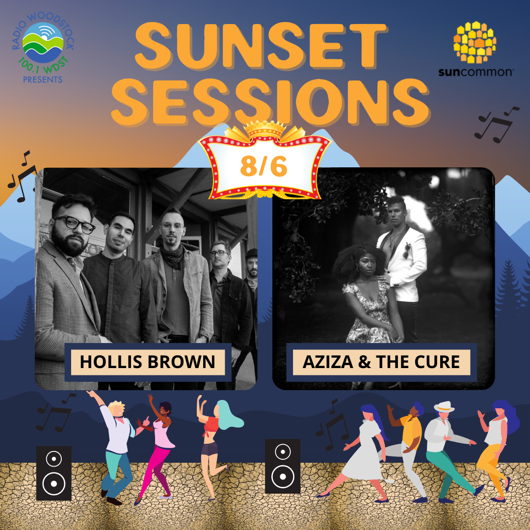 Sunset Sessions w/ Hollis Brown + Aziza & The Cure