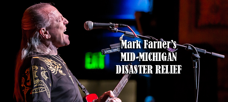 Mark Farner Starts GoFundMe to Aid Mid-Michigan Flood Victims