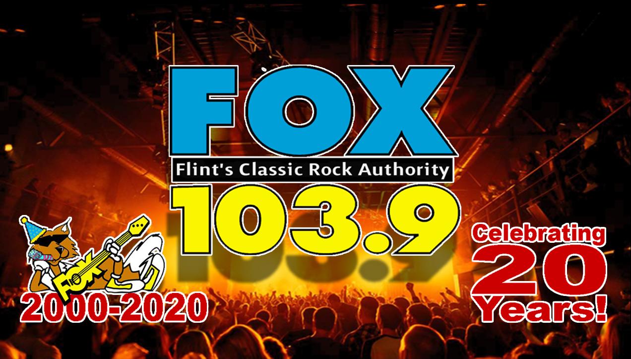 103.9 The Fox Celebrates 20 Years of Rockin' Flint!