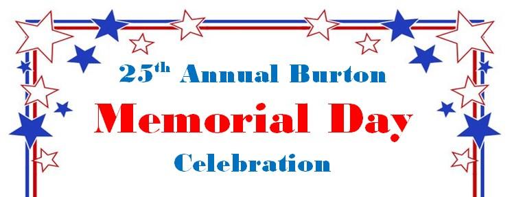 Memorial Day in Burton