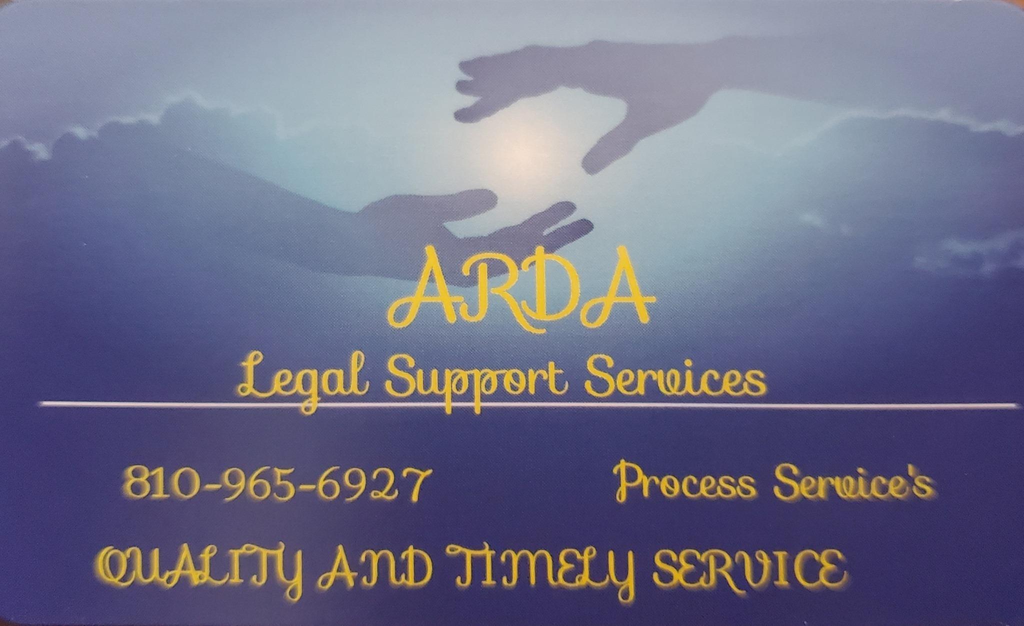 ARDA LEGAL SERVICES