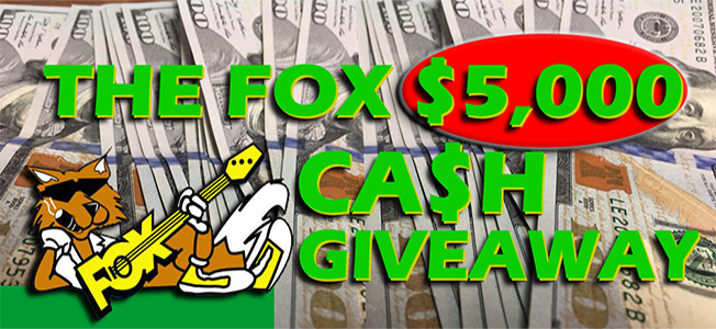 $5,000 Cash Giveaway