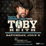 Toby Keith – Country Comes To Town Tour