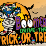 BOOMER'S DRIVE-THRU TRICK OR TREAT