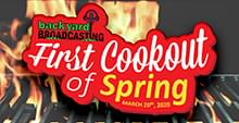 Annual First Cookout of Spring
