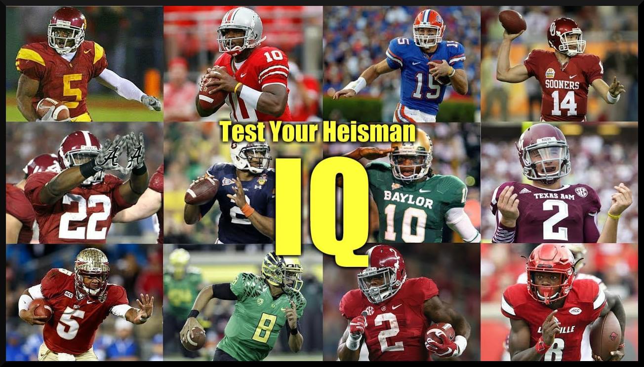 Just for fun: Heisman Trivia
