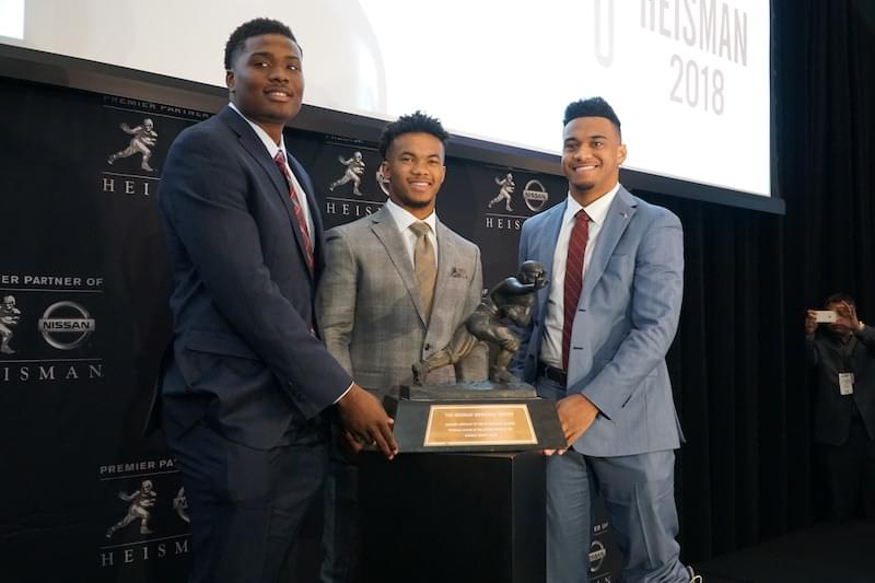 Two-Horse Race for Heisman Enters Home Stretch