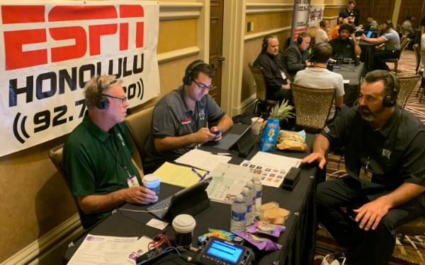 Nick Rolovich joins The Bobby Curran Show at Mountain West Media Days