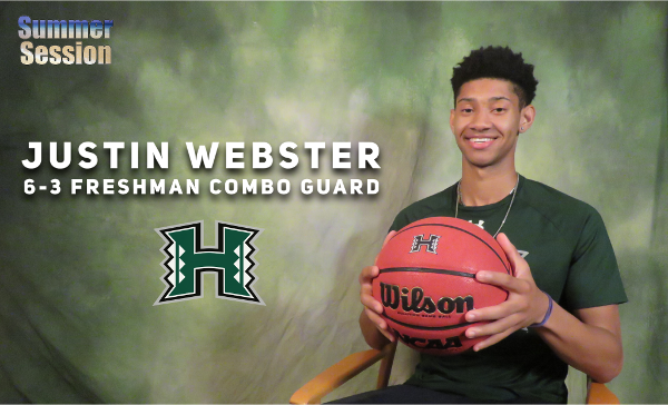 Introducing UH Guard Justin Webster