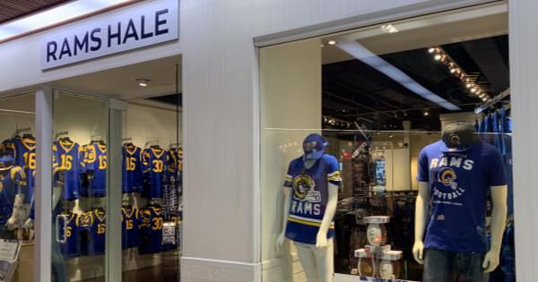 NOW OPEN: Rams Hale Pop-Up Shop