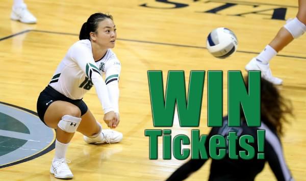 Win Rainbow Wahine Volleyball Tickets