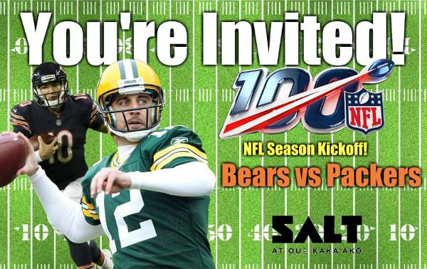 Sept. 5: NFL Viewing Party and Team Challenge!