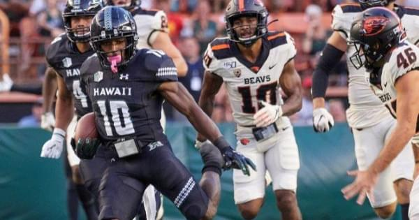 RECAP: Oregon St. vs. Hawai'i
