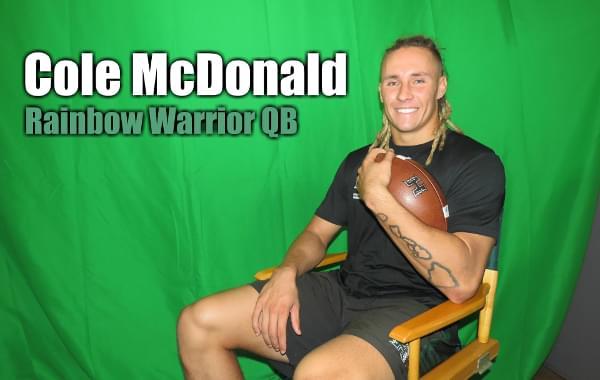 Interview: UH QB Cole McDonald