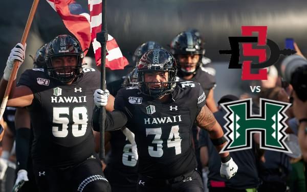 Enter to win tickets to SDSU vs. Hawai'i
