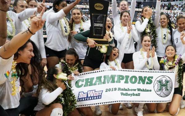 Gallery: Rainbow Wahine Win BWC Title